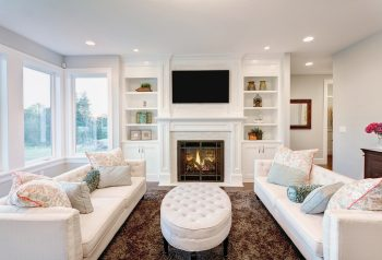 Family Room in New Home